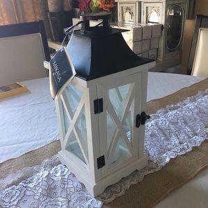 MIKASA | Decorative White Wood LED Candle …